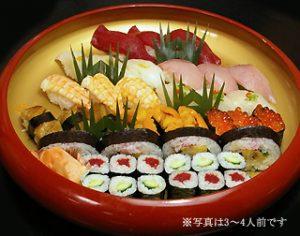 寿司盛り合わせ 中にぎり
