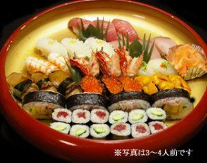 上にぎり 寿司盛り合わせ