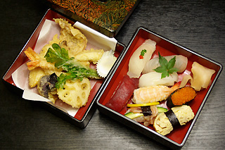 天ぷらセット 梅