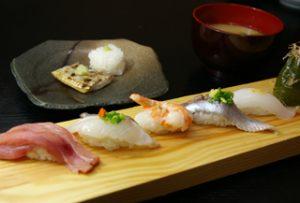 季節の旬にぎり寿司