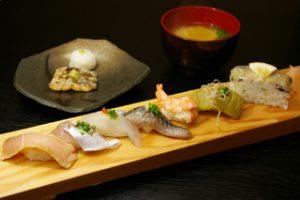 旬の寿司にぎり 9月