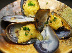 ムール貝のマヨネーズ焼き