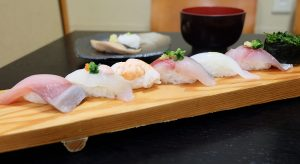 福ずし 旬のにぎり 寿司8巻