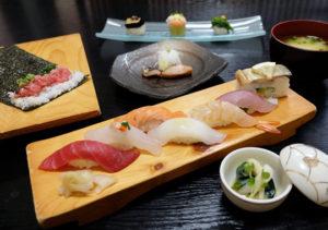 寿司ランチ 福ずし